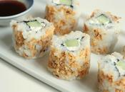 California makis croustillants concombre fromage frais