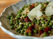 Couscous marocain petits pois lard recette