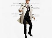 CULTE trench-coat, tranchées manteau branché