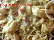 Scampis Curry lait Coco