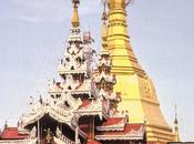 J213 Rangoon, pagodes Sule Shwedagon