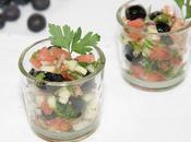Salade tomates-myrtilles