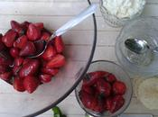Salade fraises vinaigre balsamique