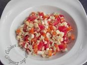 Salade gourmande crozets tomme