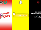 campagnes social media réussies Vine, Instagram, Snapchat Pinterest