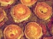 Idéale pour beaux jours tarte pesto, tomates chèvre