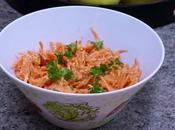 carottes râpées leur vinaigrette