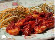 Emincé poulet tomate
