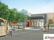Aurillac présentation projet d'extenstion centre commercial Julien Géant Casino