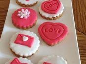 Sablé boutons roses déco pâte sucre