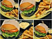 Hamburgers porc moutarde romarin cheddar