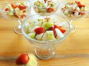 Coupe fruits saison & polenta