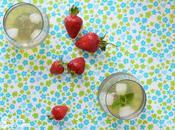 Sweet drinks vert glacé