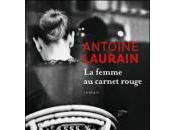 femme carnet rouge, Antoine Laurain, Flammarion