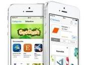 L'App Store n'affiche plus applications