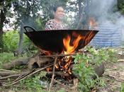 vengeance d'une Thaïlandaise plat mange chaud [HD]