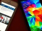 J'aime/j'aime avis Galaxy iPhone