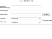 Sauvegarder emails Gmail avec Backup