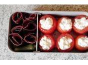 Bento mini tomates farcies viande séchée Grisons