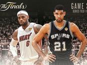Finales 2014 Game Spurs déroulent (111-92)