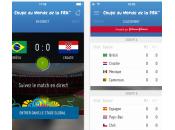 Coupe Monde 2014 l'application FIFA disponible
