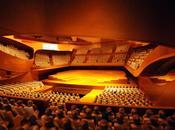 Paris nuit chantier l'Orchestre Philharmonie