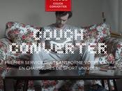 Couch Converter: Vittel transforme votre canapé chaussures sport uniques