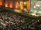 stade transformé salon géant pour coupe Monde