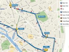 10km L'Equipe retour course