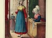 costumes traditionnels français milieu XIXe siècle