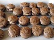 Macarons Foie Gras miettes pain d'épices