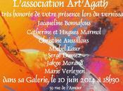 Agde Vernissage galerie Art'Agath