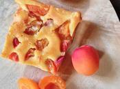 Clafoutis abricots régions fleur d'oranger