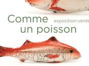Pézenas Vernissage l'exposition Comme Poisson