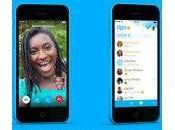 Skype pour iPhone nouvelles gestuelles dans version