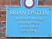 plaque commémorative pour Brian Epstein
