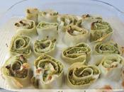 Lasagnes roulées brocolis