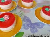 Petit bavarois fraise fromage blanc