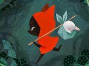 petit loup rouge, d'Amélie Fléchais conte sauvage