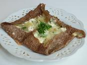Galette reblochon, pommes terre persillade