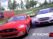 Racing iPhone, l'arrivée d'une superbe Ford Mustang