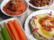 Healthy ftour n°3: mézé Libanais végétarien sans gluten}