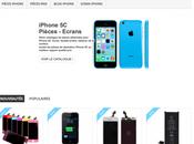Découvrez pièces accessoires iPhone boutique ligne Phone Online