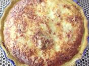 Quiche bettes mozzarella