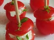 Tomates cerises fourées mozza
