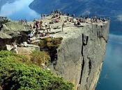 Rocher Preikestolen Norvège