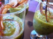 Gazpacho Concombre Lait Oignons Rings