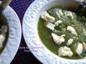 Soupe glacée Courgettes Basilic
