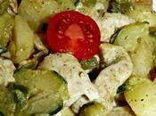 Emincé dinde épicé petits légumes