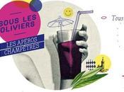 Retour soirées SOUS OLIVIERS Apéros champêtres TERRASSE Café Epices